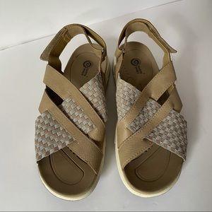 New Earth Spirit Tan Sandals